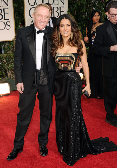 Salma Hayek and Francois-Henri Pinault