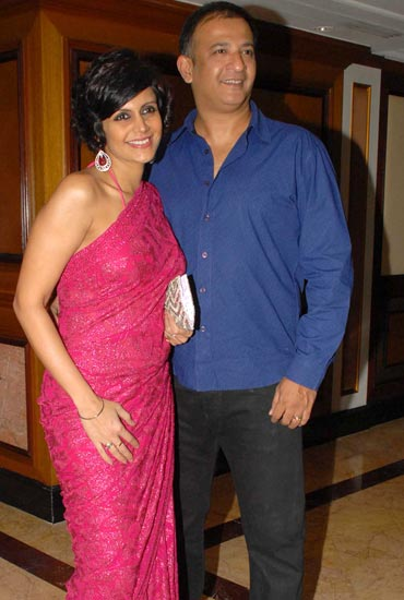 Mandira Bedi and Raj Kaushal
