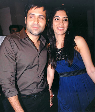 Parveen Shahani and Emraan Hashmi