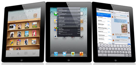 This is not an image of iPad 3. Picture used only for representational purpose.