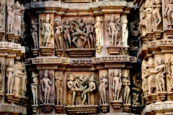 IN PICS: The STUNNING temples of Khajuraho!
