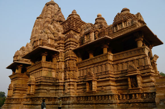 The Lakshmana temple dedicated to Vishnu