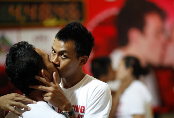 IN PICS: The world celebrates Valentine's Day