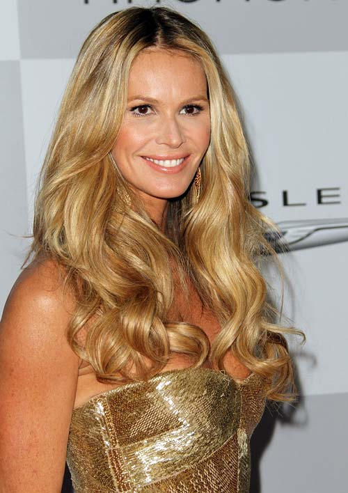 If you have healthy hair like Elle Macpherson, the sun can dry it out, but it can't cause hair loss
