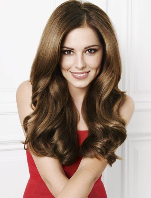 For clean, strong hair like Cheryl Cole, use a reasonable amount of shampoo -- don't be excessive