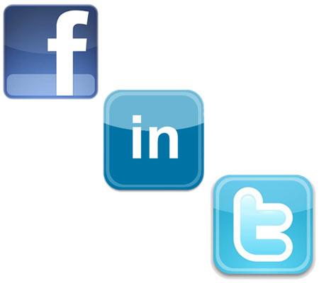 Set up social network accounts