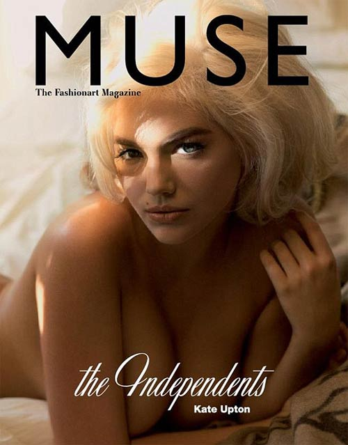 Kate Upton on the cover of Muse
