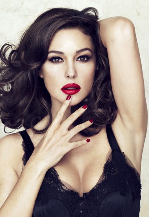 Monica Bellucci for Dolce and Gabbana