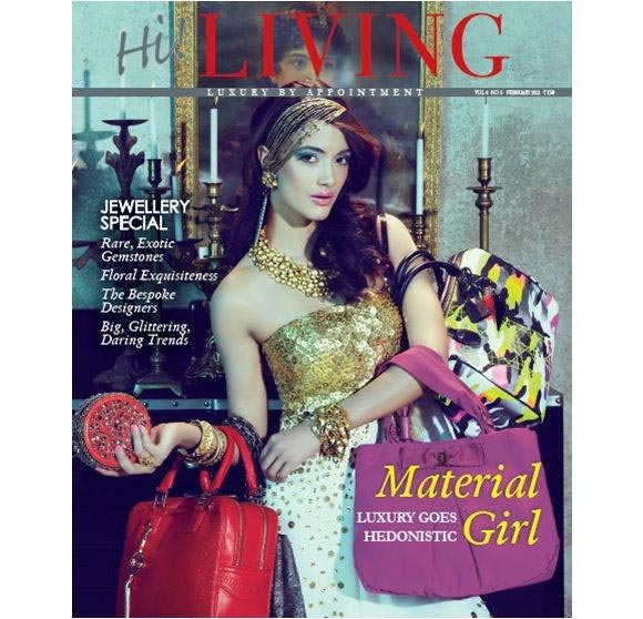 Angela Johnson on the cover of Hi! Living
