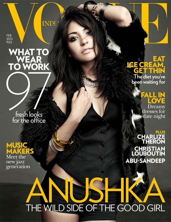 Anushka Sharma on Vogue India
