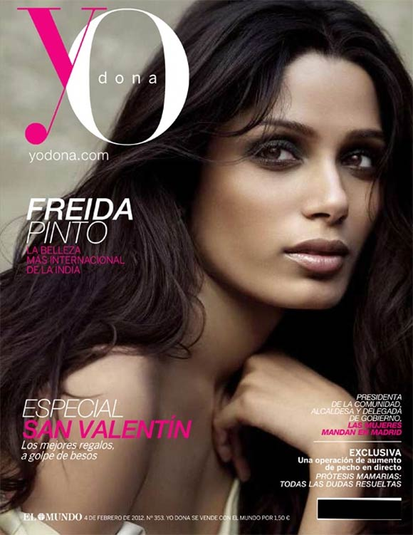 Freida Pinto Covers Yo Dona Spain
