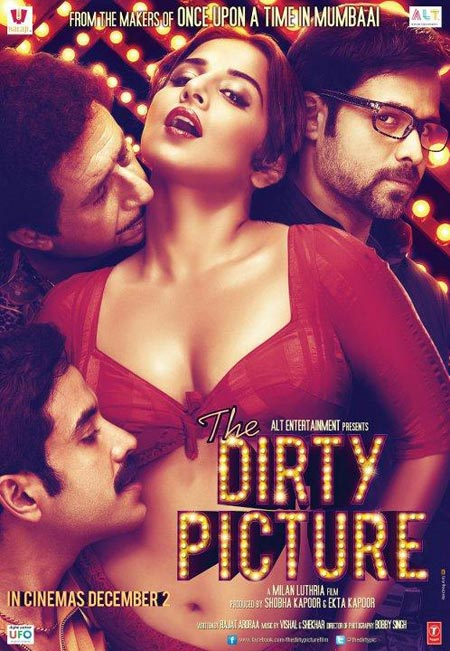 Vidya Balan stunned movie goers with her bold act in The Dirty Picture