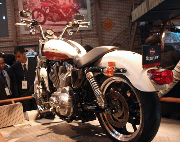 Auto Expo 2012: Top 10 Harley bikes in India