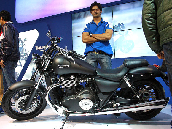 HOT PICS: Bikes that ROCKED at Auto Expo 2012