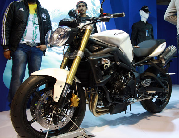 The New Triumph Street Tripple