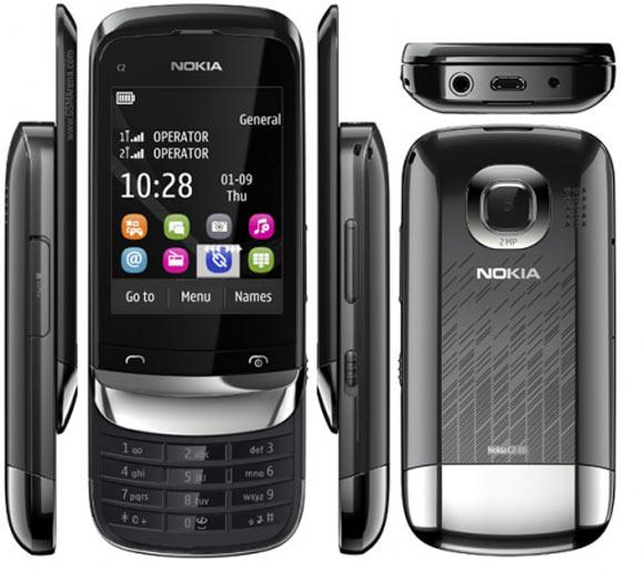Nokia C2 06