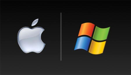 Mac and Windows wallpaper