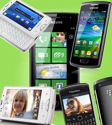 A collage of smartphones between Rs 10,000 and Rs 20,000