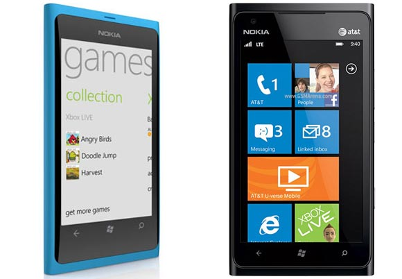 Guess what? Nokia Lumia 800 and 900 are different!