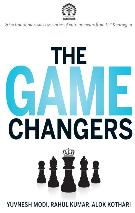 The cover of The Game Changers