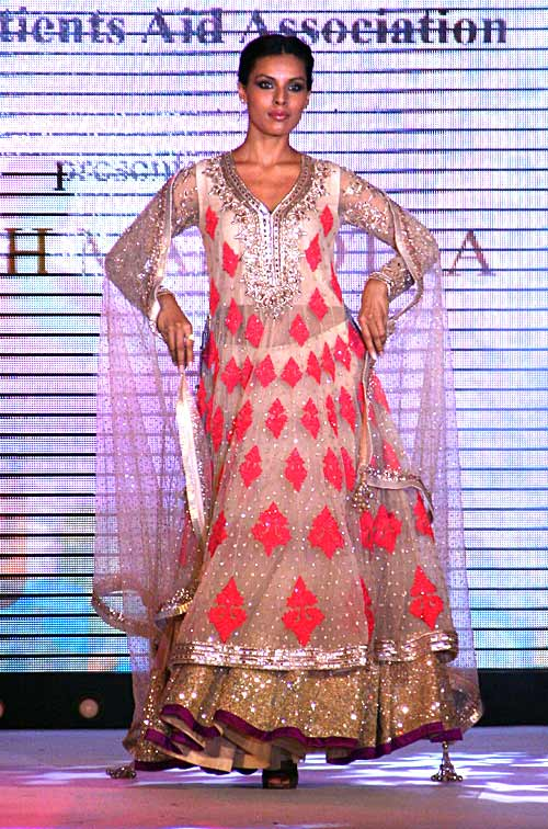 Deepti Gujral for Manish Malhotra