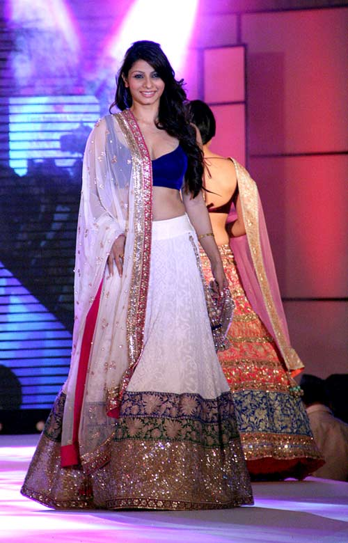 Tanisha Mukherjee for Manish Malhotra