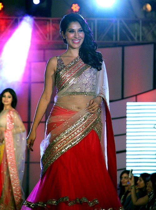 Sophie Chaudhary for Manish Malhotra