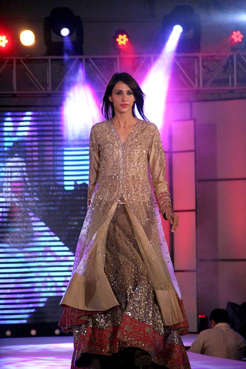 Alesia Raut for Manish Malhotra