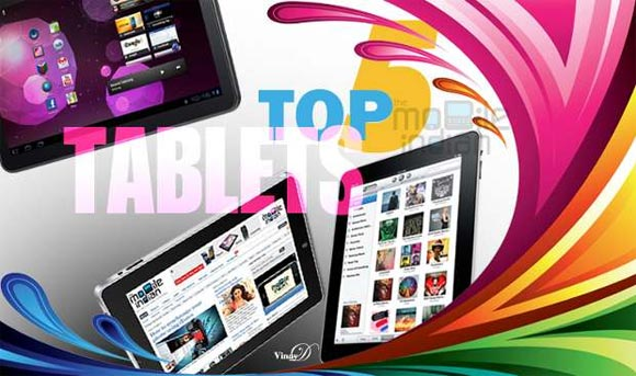 Top 5 tablets available in India