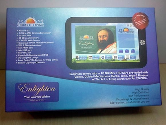 Enlighten tablet