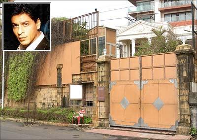 Shah Rukh Khan's bungalow Mannat at Bandstand, Bandra