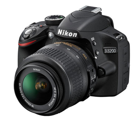 IN PICS: The super-sexy and affordable Nikon D3200