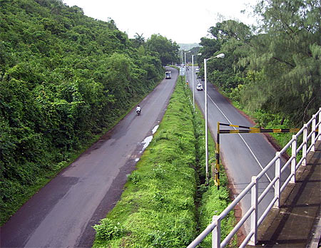Mumbai-Goa on NH17.