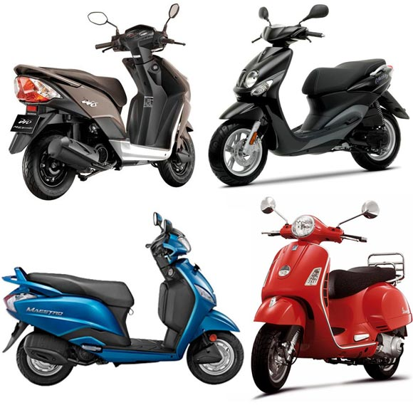 HOT PICS: Top 10 sexiest new scooters of 2012!