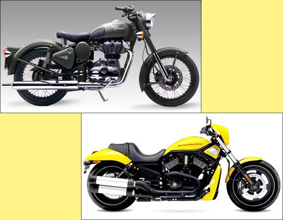 The Amazing Stories Of Harley Davidson And Royal Enfield Rediff