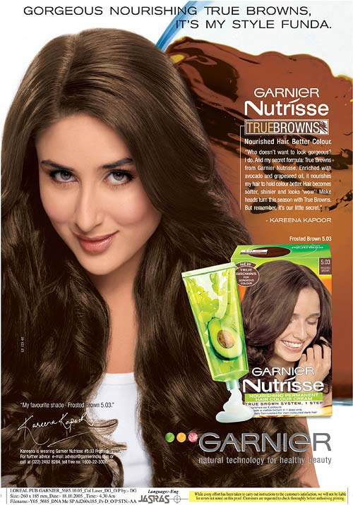 For a thick, healthy growth like Kareena Kapoor's, never comb or detangle wet hair