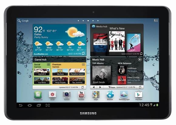 Samsung Galaxy Tab 2, 10.1