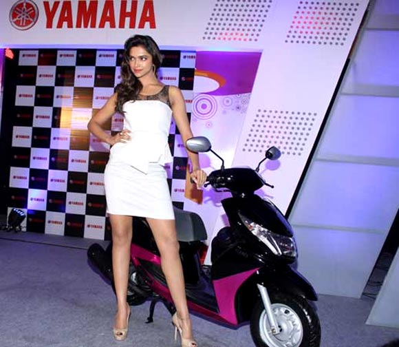 Deepika Padukone is the face of Yamaha Ray!