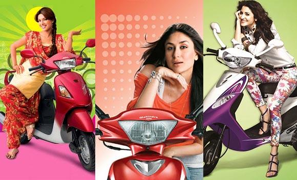 Deepika Padukone is the face of Yamaha Ray!