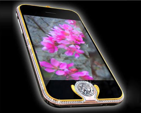 Stuart Hughes iPhone 4 Diamond Rose Edition
