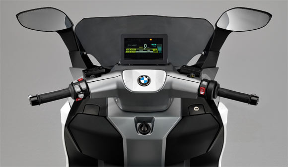 Photos: BMW unveils the C Evolution e-Scooter