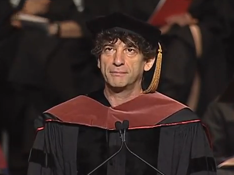 Neil Gaiman, the best-selling writer