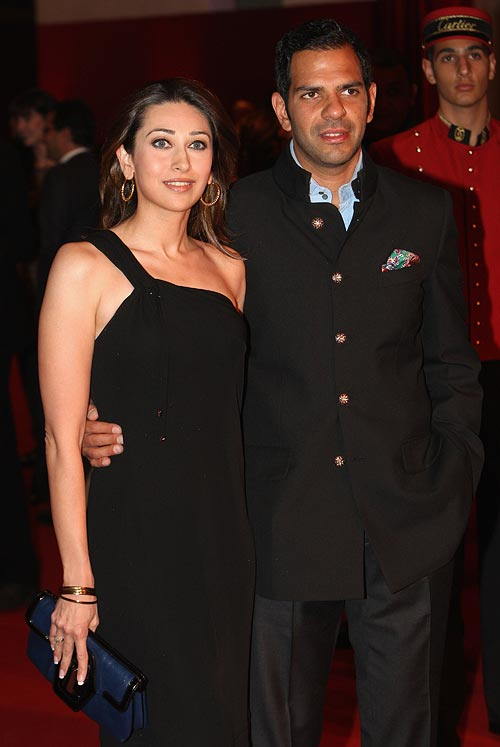 Karisma and Sanjay Kapoor