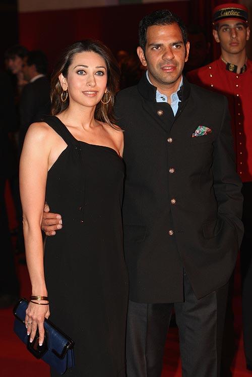 Karisma and Sanjay Kapoor
