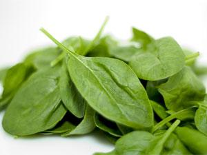 The Sugar Busters Diet involves eating high-fibre vegetables like spinach