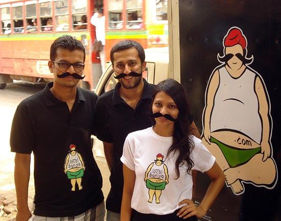 (LtoR) Amit Naik, Karan Mehrotra and Rashi Choudhary