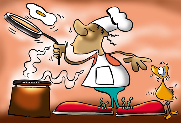 6.  Learn to cook