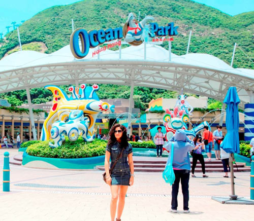 Sandhya at The Ocean Park