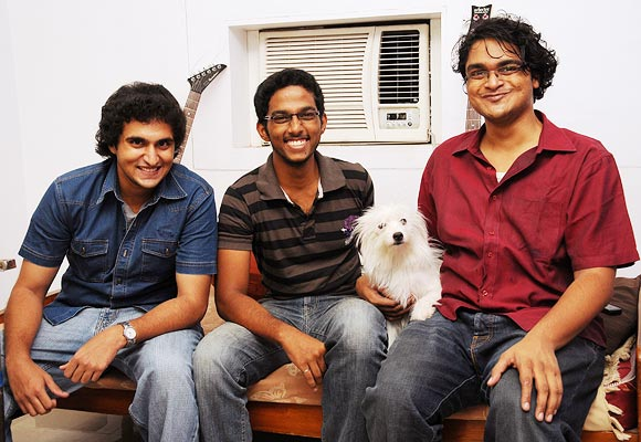 (L-R) Abhimanyu Ananth, Venkat Ramna Sai and Govind Jaya Shouri