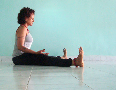 Upavista konasana (Wide-legged wide angle pose)
